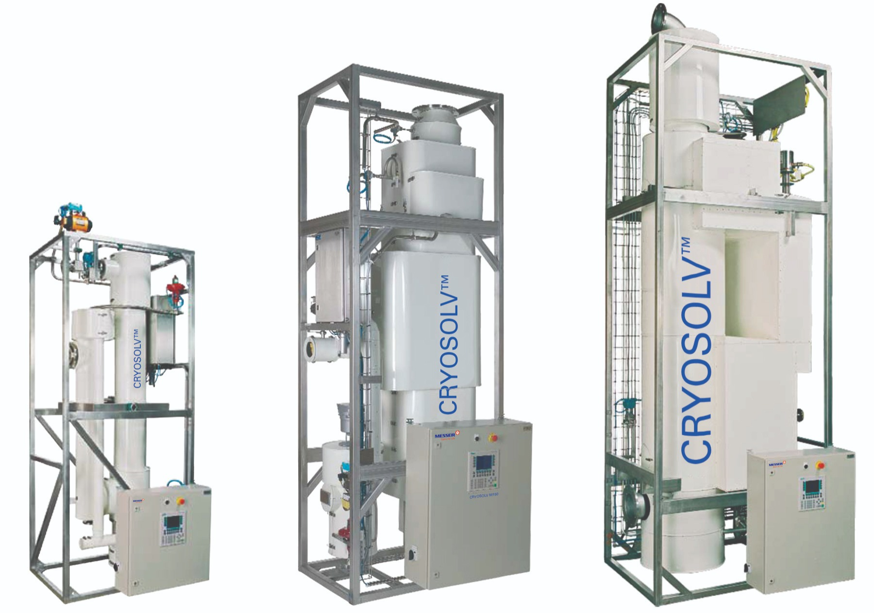 The CRYOSOLVTM  VEC system provides flexible, compact, and efficient equipment and solutions to minimize atmospheric emissions of volatile organic compounds by using cryogenic liquid nitrogen.