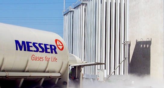 Messer Tanker with Nitrogen-1-2