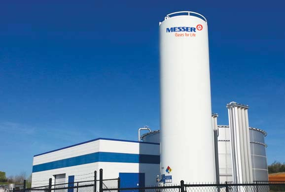 Oxygenation System Reduces BOD for Tennessee Poultry Supplier