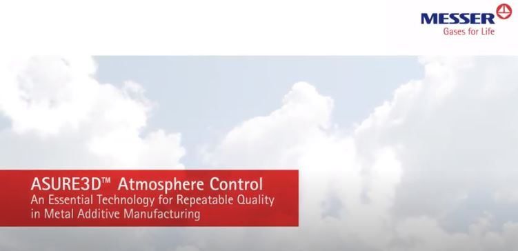 ASURE3D™ Atmosphere Control for Additive Manufacturing
