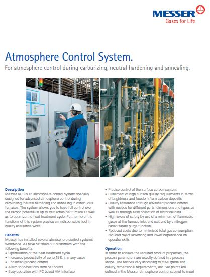 Atmosphere Control System