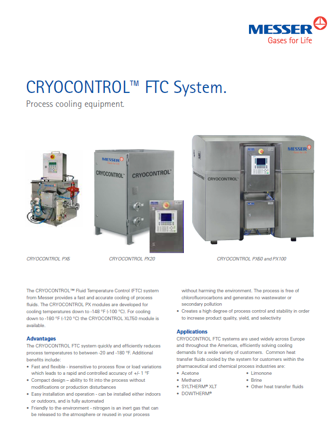 CRYOCONTROL™ FTC System