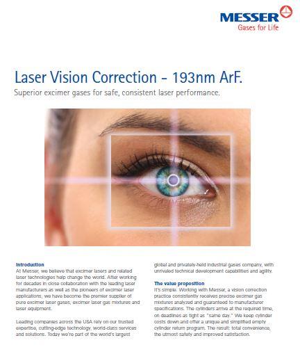 Excimer Laser Gases
