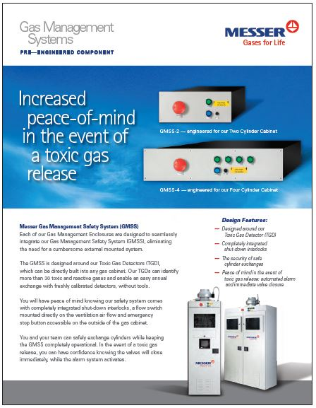 Gas Management Safety System