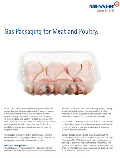 Gas Packaging for Meat and Poultry
