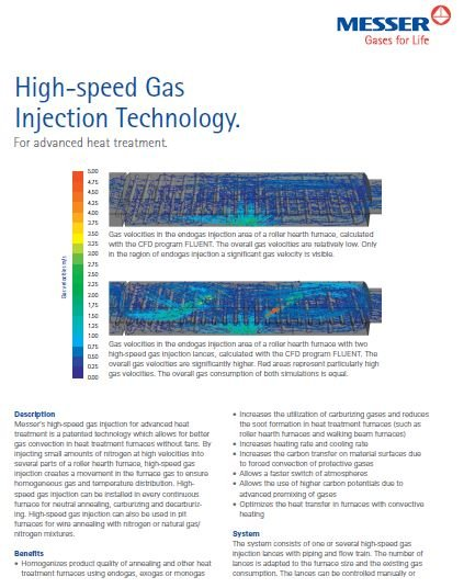 High-Speed Gas Injection Technology