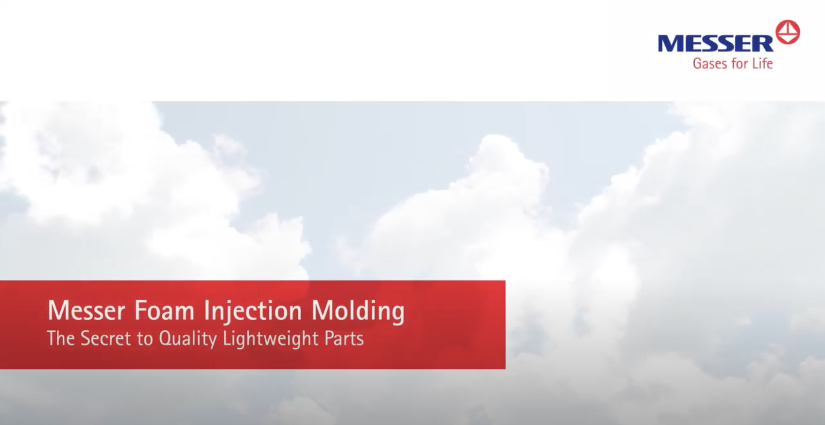 Messer Foam Injection Molding