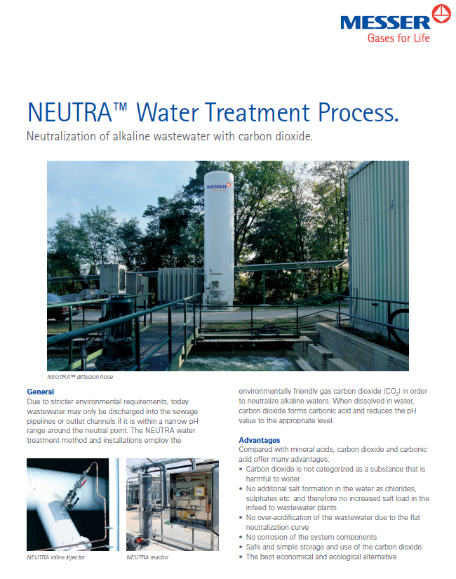 The NEUTRA™ Water Treatment Process
