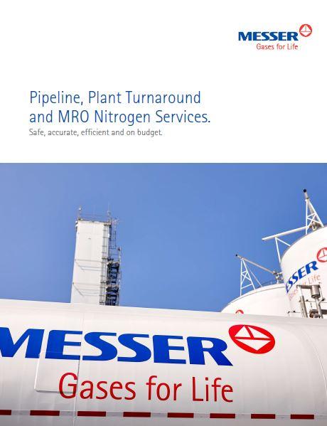 Pipeline, Plant Turnaround and MRO Nitrogen Services